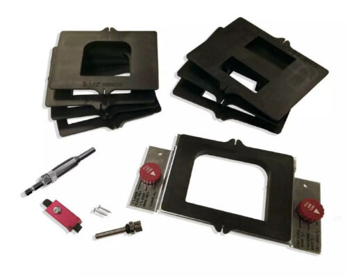 Milescraft 1220 Complete Router Door Mortising Kit with 8 Te