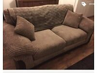 SOFAS 3&2 SEATERS EXCELLANT CONDITION