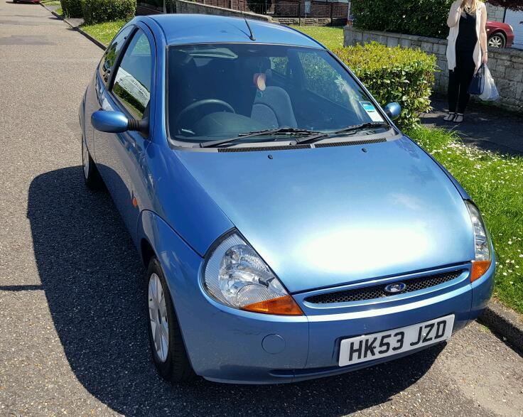 Ford Ka Lovely Light Blue  L Long Mot Due March