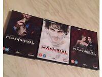 Hannibal season 1-3