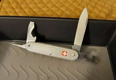 Wenger 1987 Soldier Alox Vintage Swiss Army Knife