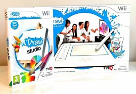 Brand New - U draw Studio Tablet and Game for Wii + FREE Harry Potter Lego Game