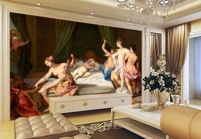 3D Nude Weibliches Bett 853 Tapete Wandgemälde Tapete Tapeten Bild Familie DE