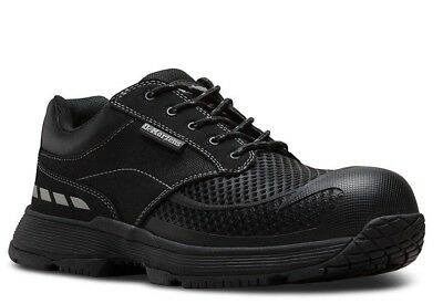 Dr. Martens Calamus LO Composite Toe EH Industrial Work Shoes Black 21831001 (Industrial Work Shoes)