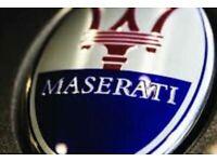 Maserati Nurburgring grill Badge Bora Spyder Biturbo Quattrop grill badge emblem