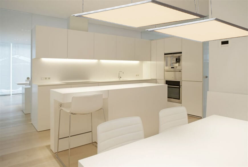 Led Panel Suspended Hanging Ceiling Light Office Or Home