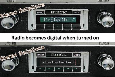 1971-1973 Roadrunner NEW USA-630 II* 300 watt AM FM Stereo Radio iPod USB Aux