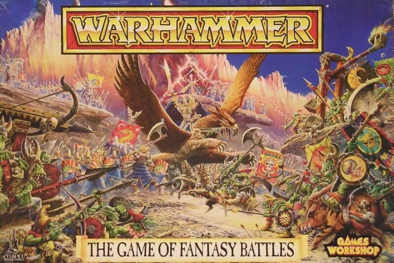 Warhammer : The Game of Fantasy Battles : 4th Edition : Complete : 1992