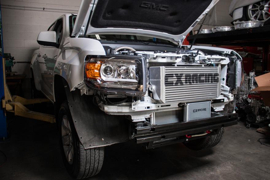 CXRacing Intercooler + Piping Kit For 2016+ GMC Canyon Chevy Colorado 2.8 Durama
