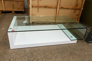 BRAND New BOXED Modern Coffee table, clear glass top, RRP$1799 Leichhardt Leichhardt Area Preview
