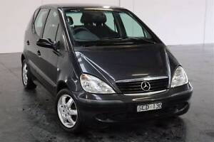 2002 Mercedes-Benz A160 Hatchback 5 Seater Wollert Whittlesea Area Preview