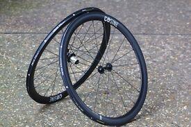 Brand new cosine 45mm carbon race bike wheels