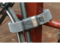 2x Litelok, lightest gold sold secure bike lock