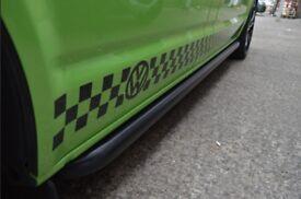 VW T5 2010> Sportline sidebars matt black