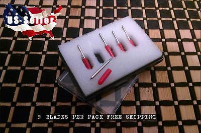 5 X 45 Degree For Roland Cutting Plotter Vinyl Cutter Blade Knife Blades