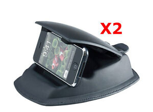 ME-USDM-x-2-Lot-of-2-Universal-Dashboard-Friction-Mount-w-holder-for-GPS-Phone