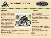 ACMA  Montréal    Vous êtes intéressé par les motos anciennes ?