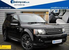 2012 62 Land Rover Range Rover Sport 3.0 SDV6 255 HSE Auto Black with Cream