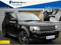 2012 62 Land Rover Range Rover Sport 3.0 SDV6 255 HSE Auto Black with Cream