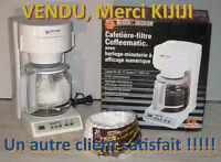 Cafétière BLACK & DECKER 10 tases DCM903-04