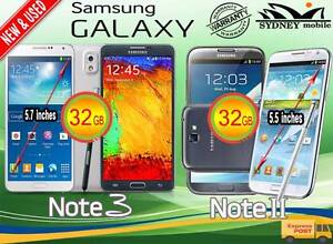 New and Used Samsung galaxy Note3 & NOTE2 32GB 4G Network Sydney Region Preview
