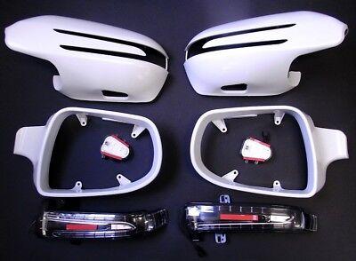 Spiegelgehäuse + LED Blinker für Mercedes SL R230 unlackiert ab Bj. 2009