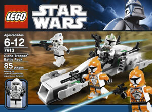 LEGO Star Wars Clone Trooper Battle Pack:  Model 7913