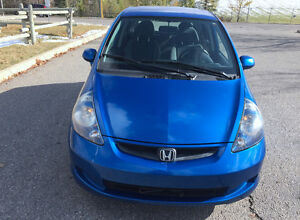 2007 HONDA FIT HATCHBACK MANUAL LOW KM