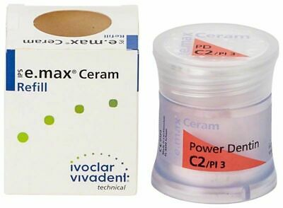 Ivoclar Ips E.max Ceram Shade Dentin C2 1 20g X 1 Bottle 681338