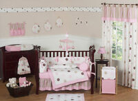 Girl's Crib Bedding by Sweet Jojo Designs  (13 Pieces)