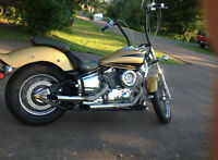 1100 Yamaha vstar custom (shaft driven)