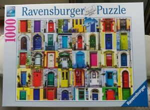 """Ravensburger 1000 puzzle """"Doors of the World""""  complete"""