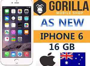 IPHONE 6 16GB GREAT CONDITION AS NEW.3 MONTH WARRANTY Strathfield Strathfield Area Preview