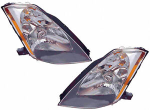 NISSAN 350Z HEAD LAMP LH HALOGEN 03-05 HQ