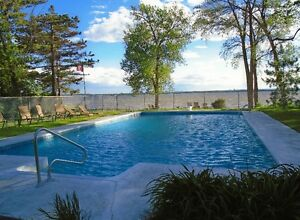 Waterfront Luxury Condo with Heated Swimming Pool & More