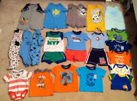 3-6 months boys summer lot