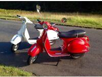 Vespa PX125 2011 (MY11) MINT!