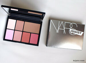 SEPHORA LIPSTICK, CHEEK PALETTE, EYESHADOW * NEVER USED