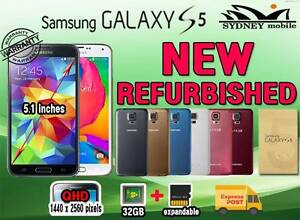 NEW GALAXY S5 32GB 4G LTE UNLOCKED GENUINE SAMSUNG Sydney Region Preview