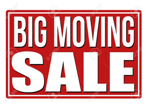 Moving sale- 2 families