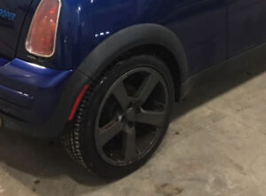 "17"" Mini Cooper Rims and Tires"