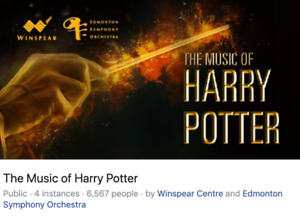 The Music of Harry Potter; Edmonton Symphony May 22