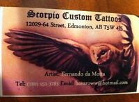 Scorpio Custom Tattoos-tattoo artist