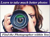 Local Hands on Photography Course - Small Classes