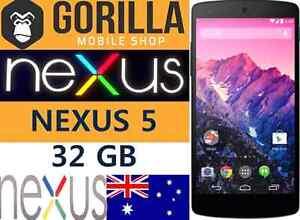 NEW GOOGLE NEXUS 5 32GB . 4G NEVER BEEN USED UNLOCKED Strathfield Strathfield Area Preview