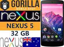 NEW GOOGLE NEXUS 5 32GB . 4G NEVER BEEN USED UNLOCKED Strathfield Strathfield Area Preview