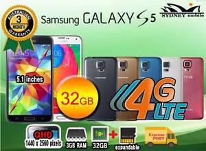 NEW & USED GALAXY S5 32GB 4G LTE UNLOCKED Sydney Region Preview