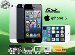 GOOD COMDITION IPHONE 5 WITH WARRANTY Sydney City Inner Sydney Preview