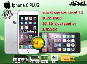 FOR SALE AS NEW IPHONE6 PLUS 64GB UNLOCKED WITH WARRANTY Sydney Region Preview