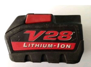 Milwaukee V28 Battery wanted (dead)